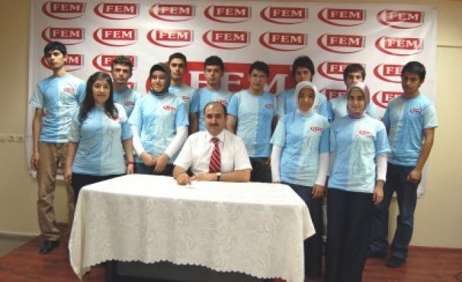 Aksu FEM, ÖSS'de de geleneği bozmadı!