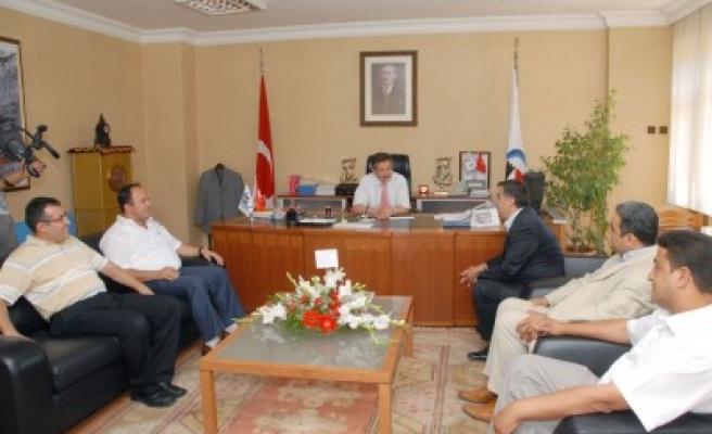 'KMS'nin en önemli destekçisi Başkan Poyraz!'