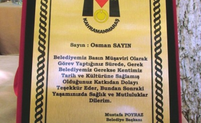 FLAŞ: Osman Sayın'a en güzel sürpriz!..