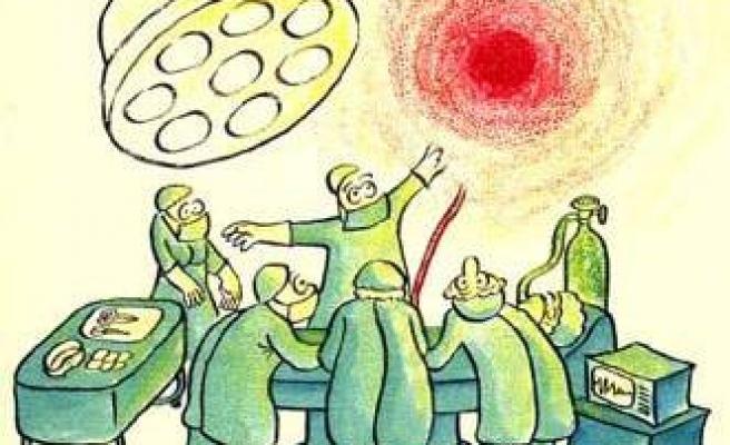 Basurlu hastaya başarılı göz nakli (MİZAH)