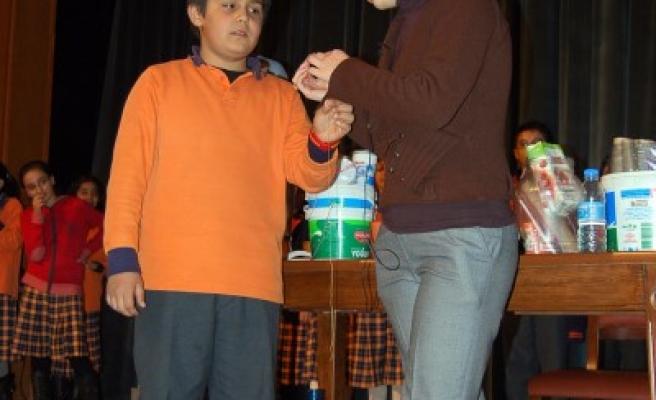 Kahramanmaraş'ta Mucit Abla gösterisi