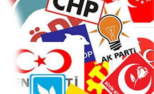 Seçimlere 21 parti katılacak