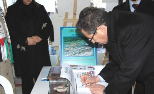 Kahramanmaraş Platformu Filistin sergisi açtı