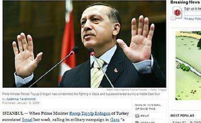 Erdoğan'a Gazze eleştirisi