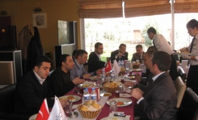 KALİDA'lı inşaatçılar toplandı