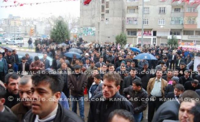 BBP'nin Seçim Bürosu'nu Yazıcıoğlu açtı