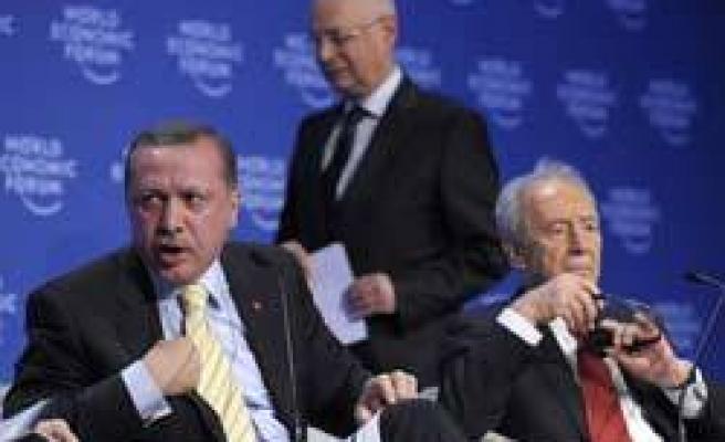 Davos'ta İsrail'e fırça fıkra oldu!
