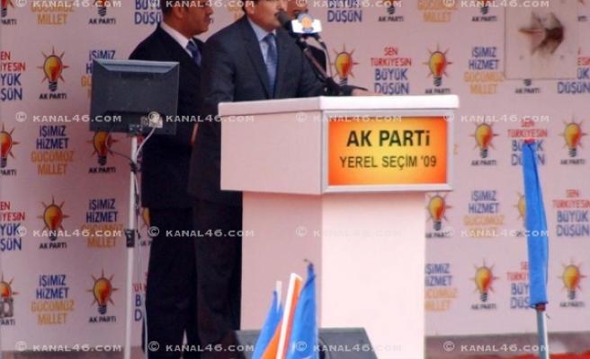 Erdoğan: 'Bizde icraat onlarda ise laf var'