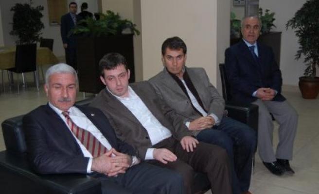 Daşcı'dan KASİAD'a ziyaret