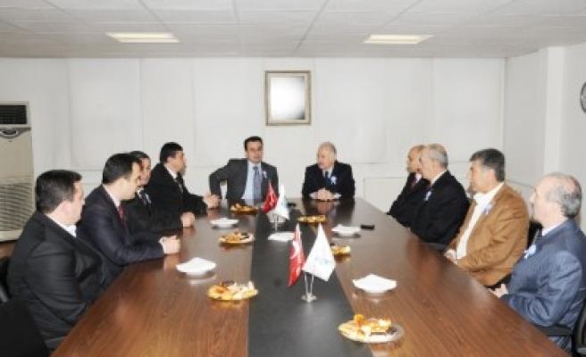 Vergi Dairesi Başkanı KTB'yi ziyaret etti