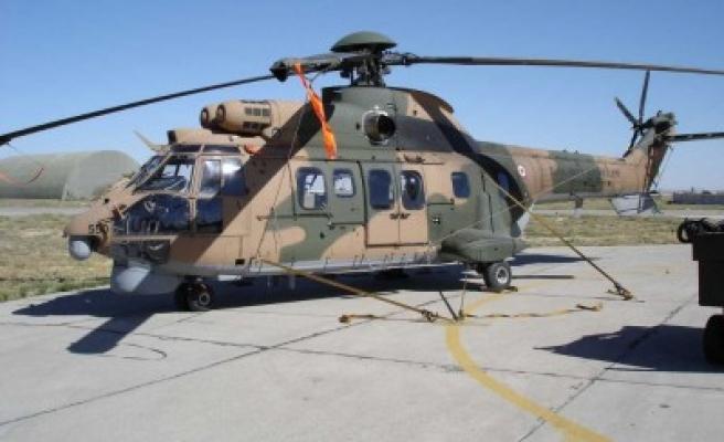 Askeri helikopter kayboldu