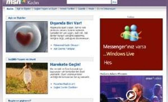 MSN Türkiye'den kadın portalı