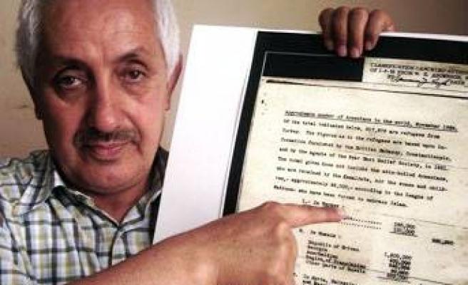 FLAŞ: Bu belge soykırım tezini çürütecek!