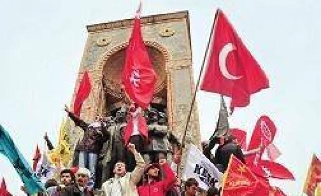 1 Mayıs'ta Taksim 'emekçi'nin olacak!