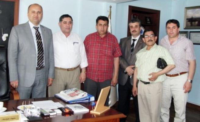 Mustafa Aydın'a 'Hayırlı Olsun' ziyaretleri sürüyor'