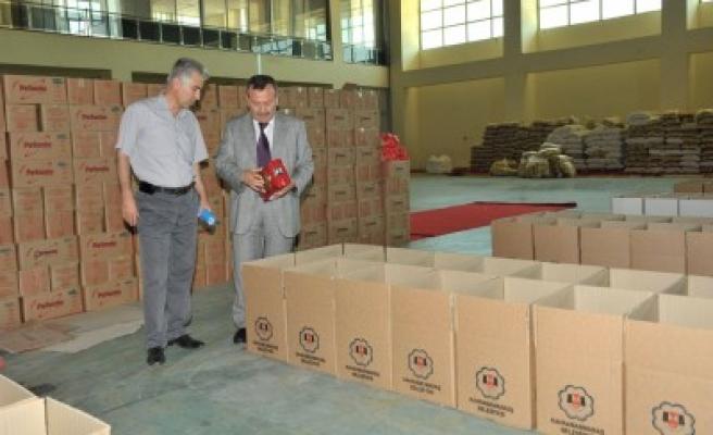 Ramazan'da 15 bin gıda paketi dağıtılacak..