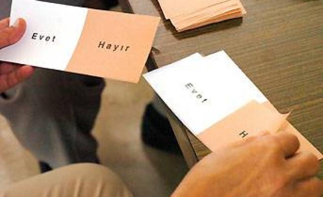 DİKKAT: 'Hayır' diyen de 'evet' mührü basacak!