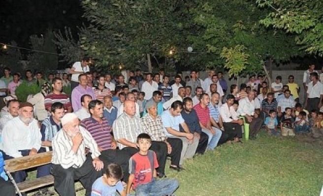 Mahalle toplantılarına Genç Osman'da devam edildi