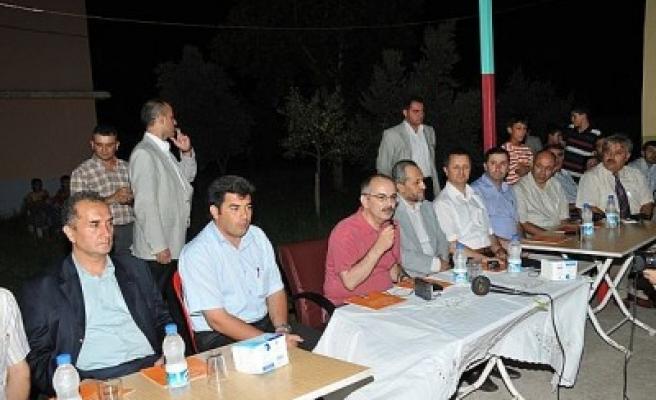 Mahalle toplantılarına Erkenez'de devam edildi