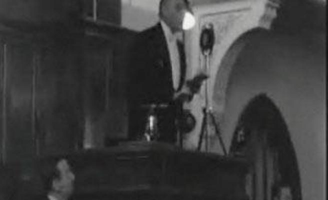 İşte Atatürk'ün gerçek sesi -VİDEO-
