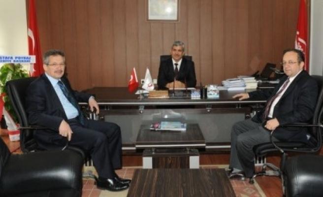 Başkan Poyraz kurum ziyaretlerine devam ediyor...