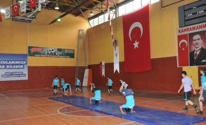 Kahramanmaraş 1. Spor ve Çocuk Oyunları Şenliği…