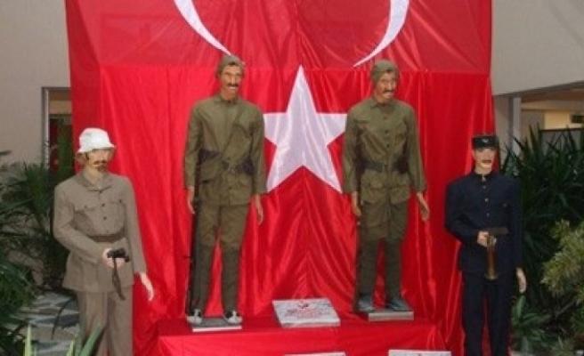 Çanakkale 1915 Gezici Müzesi Elbistan'a geldi..
