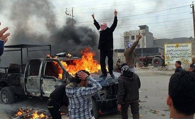 Irak'ta aşiretlere bağlı gruplar askerlerle çatıştı