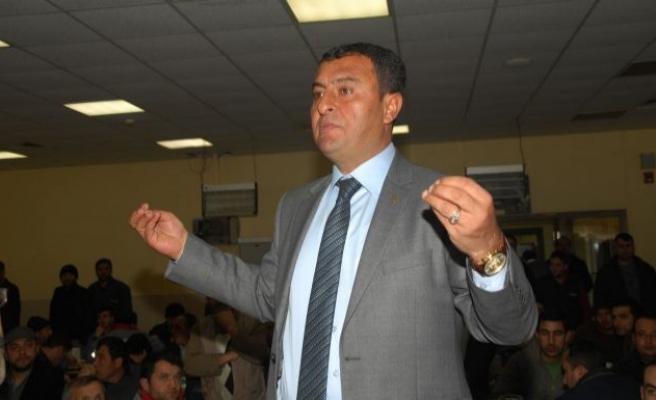 MHP Afşin adayı Termik Santrali ziyaret etti