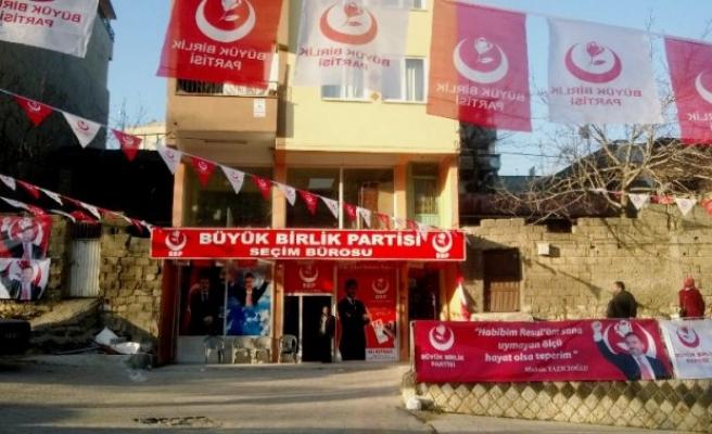 BBP Onikişubat seçim bürosunu açtı
