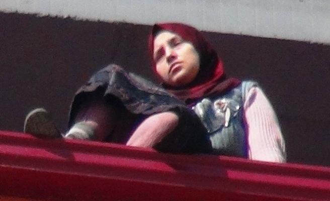 Suriyeli kadın intihara kalkıştı