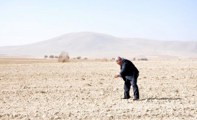 Elbistan Ovası'nda kuraklık riski