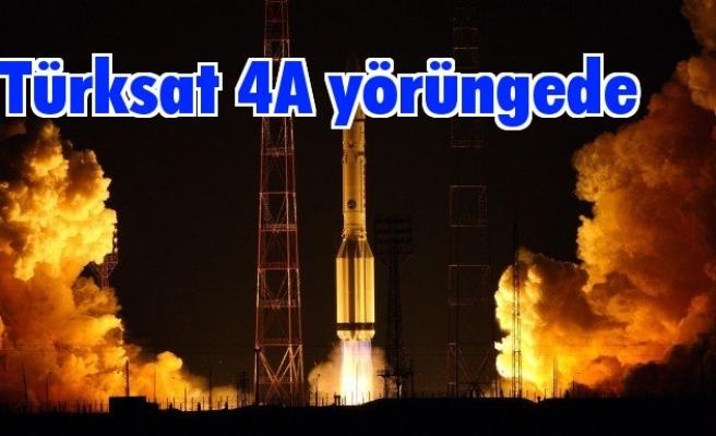 Türksat 4A ilk yörüngesine yerleşti