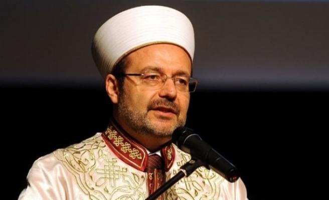 Diyanet İşleri Başkanı Yemen'de hutbe irat etti