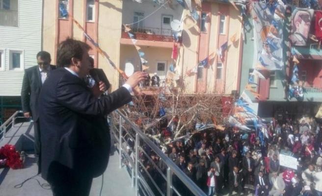 Erkoç'un Nurhak ve Ekinözü Ziyareti Mitinge Dönüştü