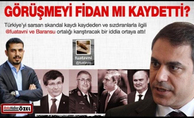 Suriye konuşmasını Fidan mı kaydetti?