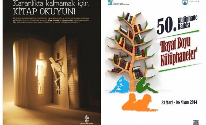 Kütüphaneler Haftası Kutlanıyor