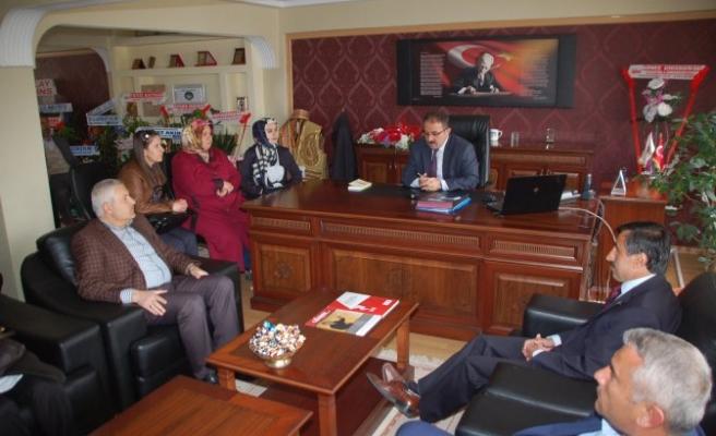 Başkan Güven'e hayırlı olsun ziyaretleri