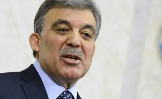Cumhurbaşkanı Gül'den adaylık açıklaması