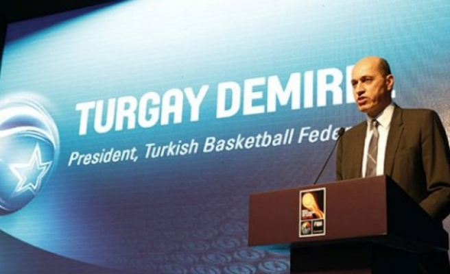 FIBA Avrupa Başkanı artık bir Türk