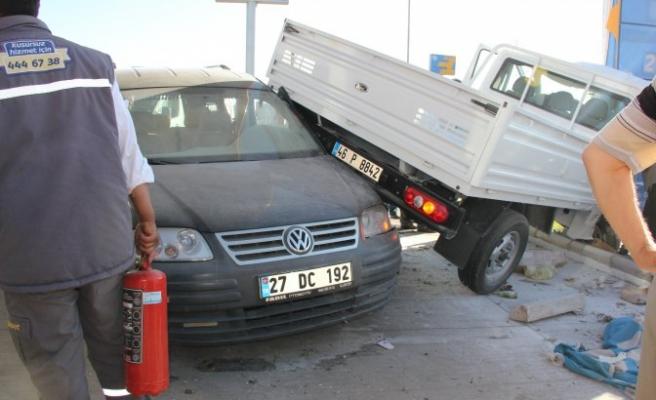 Kahramanmaraş'ta kaza: 10 yaralı