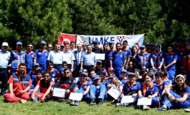 UMKE Kampı Kahramanmaraş'ta Yapıldı
