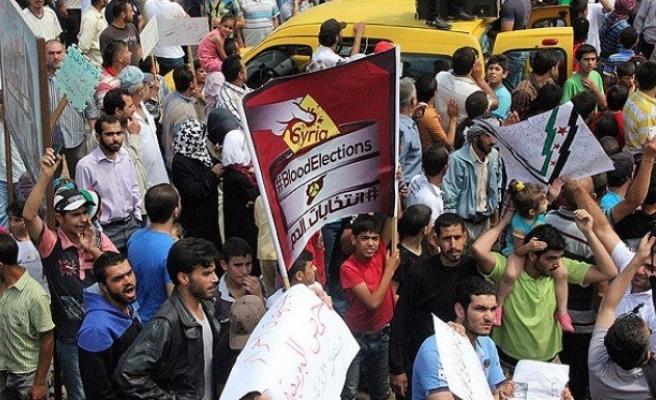 Suriye'de meşruiyeti tartışmalı seçim başladı