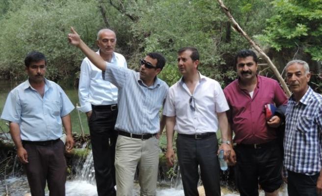 Pazarcık'ta içme suyu sorunu