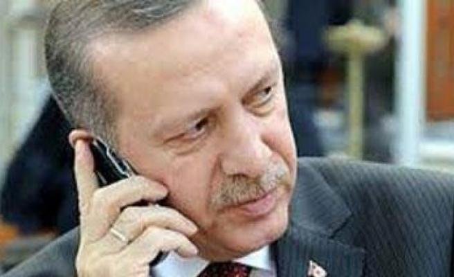 Başbakan Erdoğan'dan tebrik