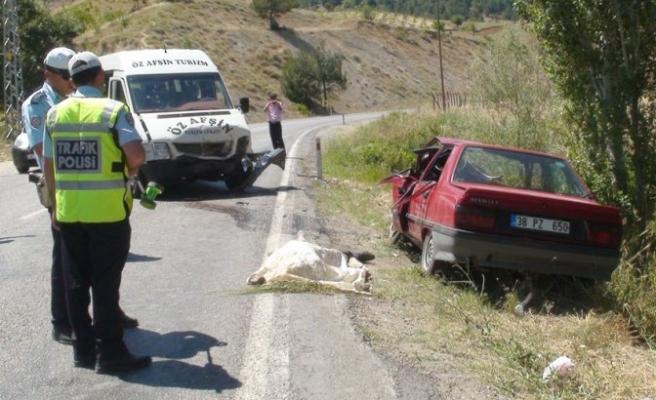 Kahramanmaraş'ta Trafik Kazası: 1 Ölü, 5 Yaralı