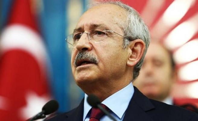Kılıçdaroğlu: Huzursuzluğun adı Erdoğan'dır
