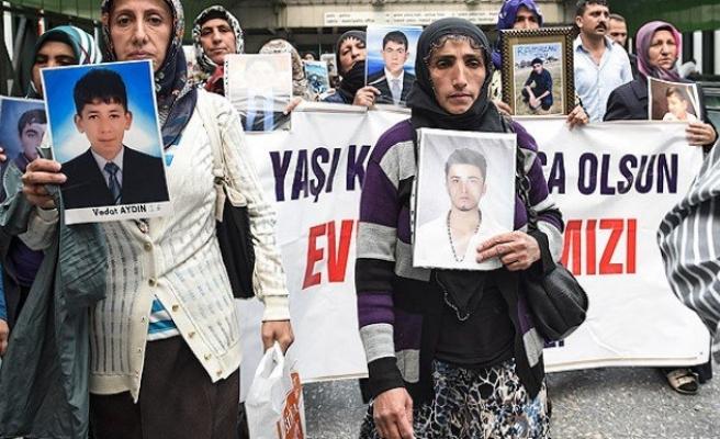 Çocukları kaçırılan aileler Ankara'da