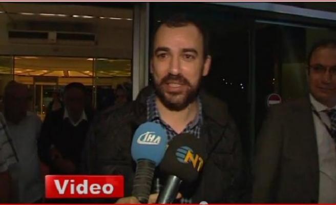 AGİT gözlemcisi Mehmet Kılıç Ankara'ya geldi