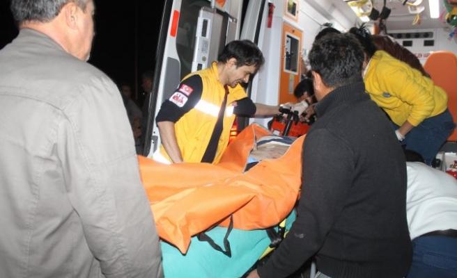 112 Acil Servis çalışanına bıçaklı saldırı